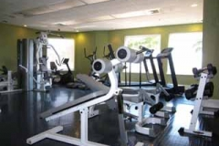 Fitness center at Indigo
