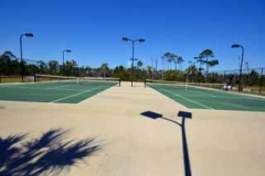 Tennis courts at Indigo